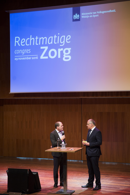 Congres Rechtmatige Zorg in Tivoli Utrecht