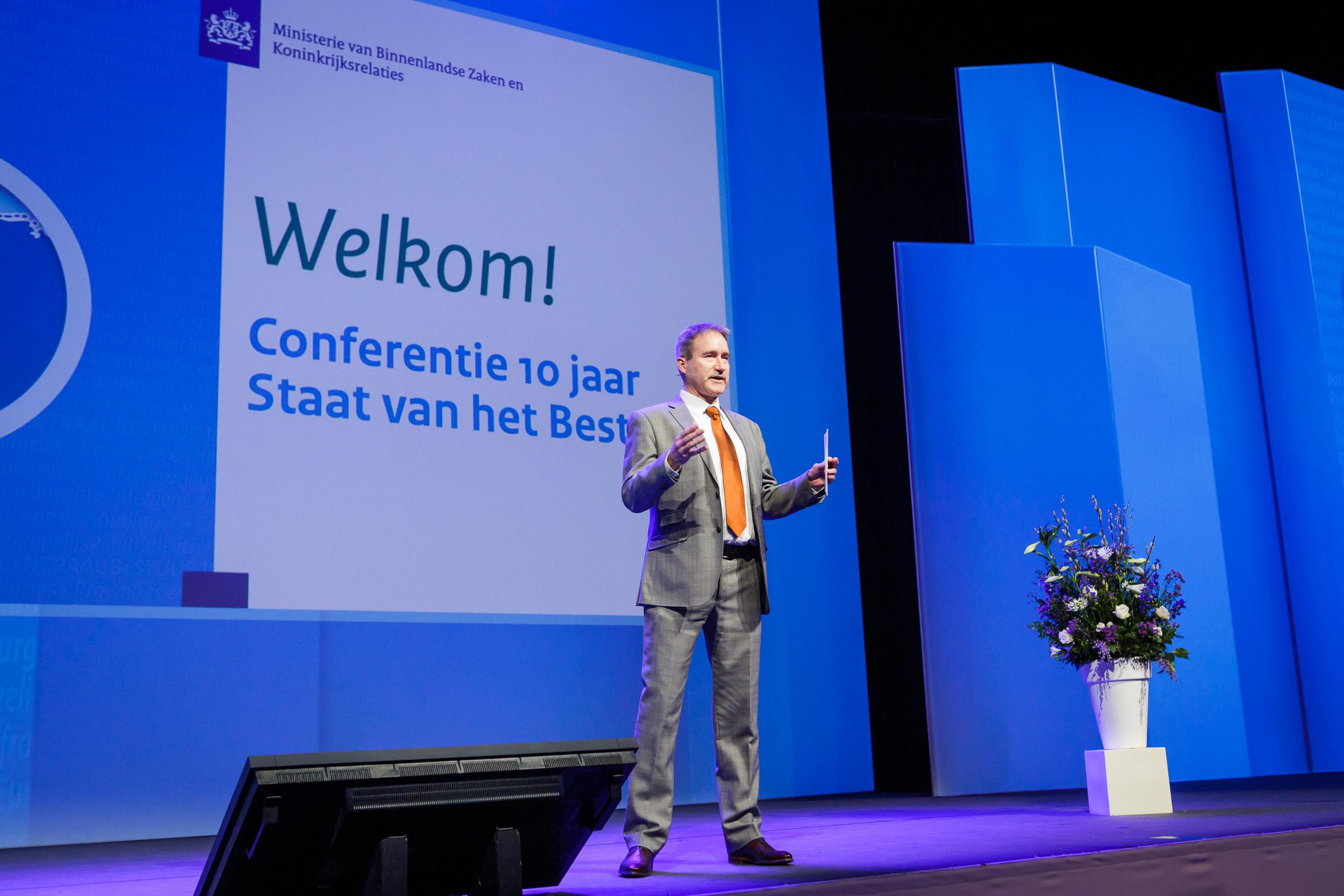 Conferentie 10 jaar Staat van het Bestuur